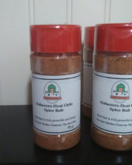 Habanero Heat Chili Spice Rub