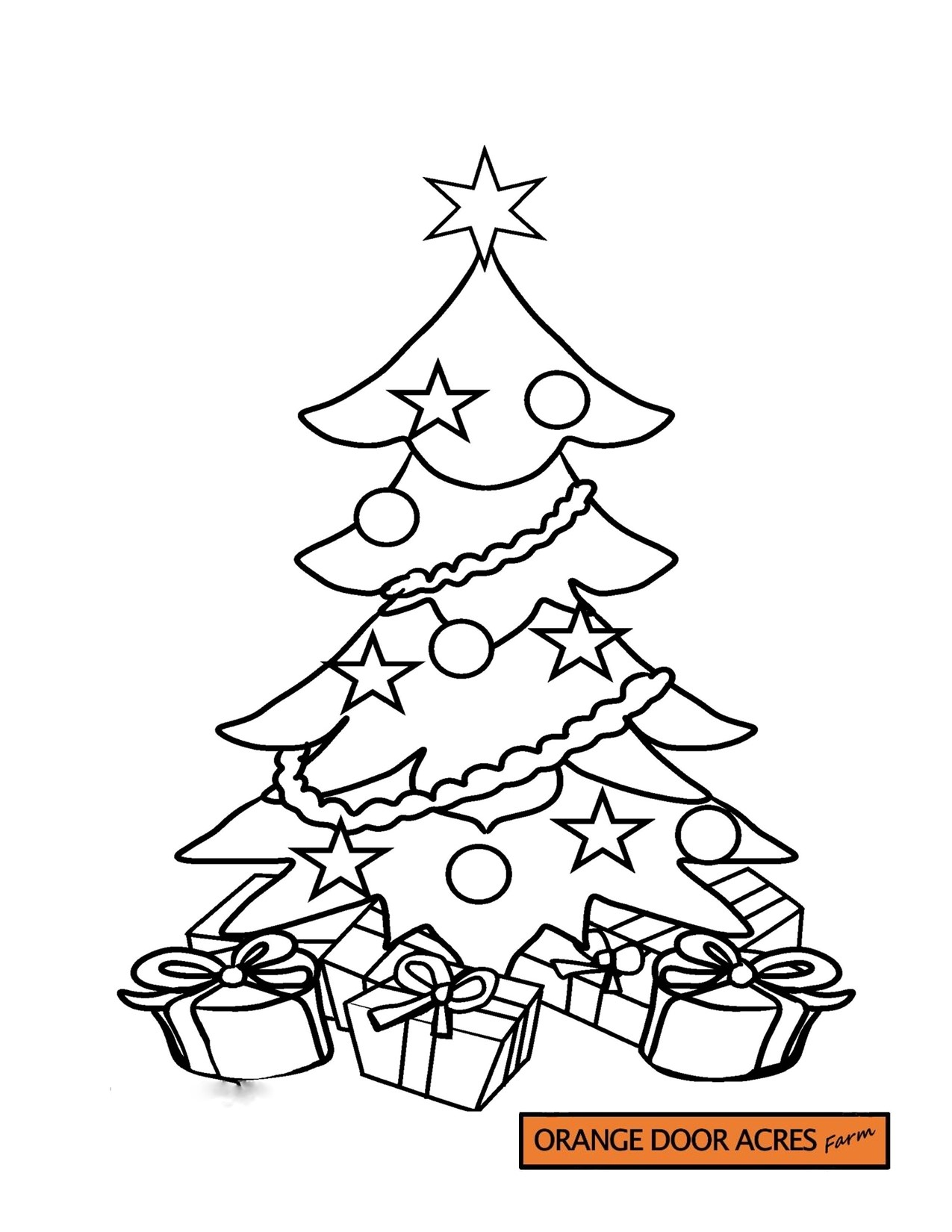 Colouring Page – 8