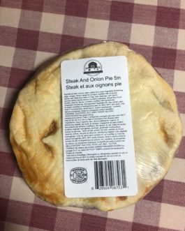 Pot Pie – Steak and Onion