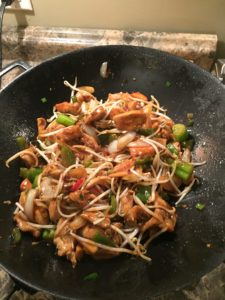Thai Style Chicken Stir Fry