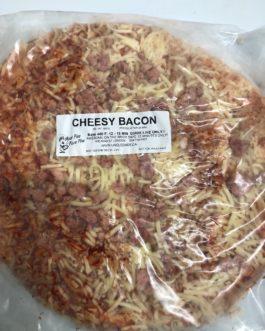 Cheesy Bacon Pizza