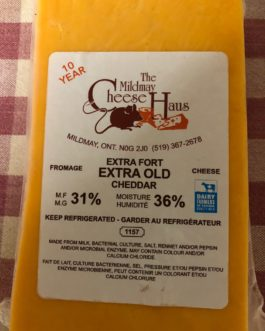 Mildmay Cheese Extra Old Cheddar 10 year