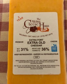 Mildmay Cheese – Extra Old Cheddar 5 year